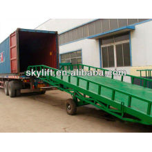 Warehouse hydraulic dock leveller