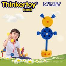 Vorschule Pädagogische Plastik Inddor DIY Open-End Spielzeug