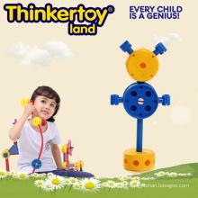 Pré-escolar Educacional Plástico Inddor DIY Open-End Toy
