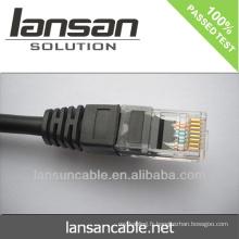 Cat6 BC / CCA / CCS UTP câble LAN plat