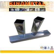 Tube carré en acier inoxydable 100X100 / tuyau 40X40
