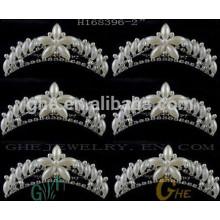 Corona al por mayor de la tiara del Rhinestone de la mini estrella