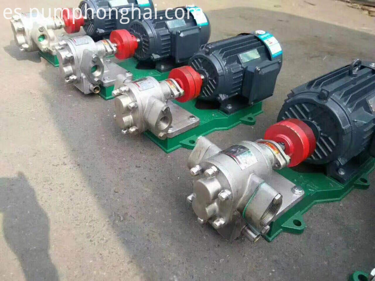 stainless steel palm oil pump
