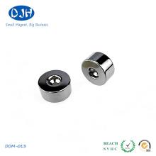 Sintered Neodymium Permanent Moto Magnet with Zinc Coating