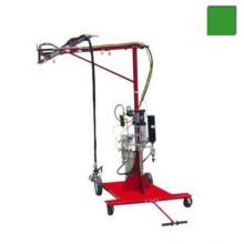 Cortadora de resina de fibra de vidrio roving máquina de pulverización con pistola