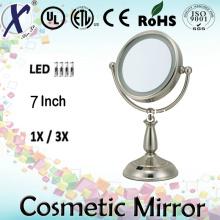 Espelho de maquilhagem de elegância de 7 polegadas