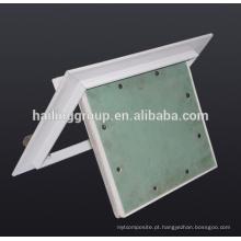 Tipo Japão painel de acesso de trava da mola de alumínio com placa de gipsita