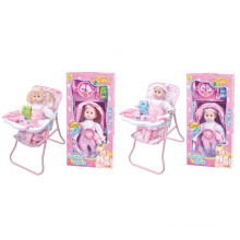 Plastic 13 Inch Doll with Cutlery Sets and IC (10221167)