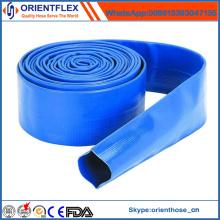 Tuyau flexible de Layflat de PVC pour l'irrigation