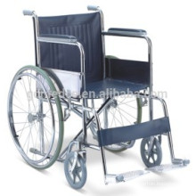 Leather cushion steel wheelchairs for cerebral palsy children prices W002