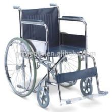Стационарная стальная складная ручная коляска цена W002