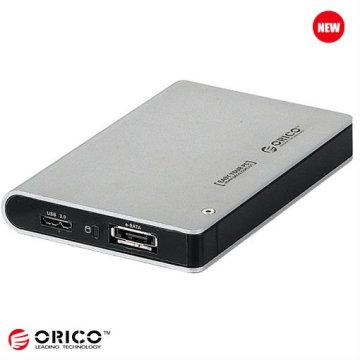 """Gabinete HDD de armazenamento externo SATA de 2,5 """"com função sem ferramenta"""
