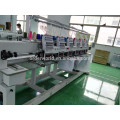 """Computerized Tubular Embroidery Machine with 2 Heads 10"""" Touch Screen for Cap Garment T-Shirt Flat Embroidery"""