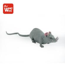 Jouets shantou jouets réalistes mini souris soft rubber anim toy à vendre