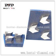 Arrow Bloque de cuña de diamante