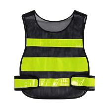 Custom Breathable Mesh Workwear Hi Vis PVC Reflective Tape Safety Vest