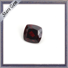 Perfect Blood Red Cushion Natural Garnet Gemstone