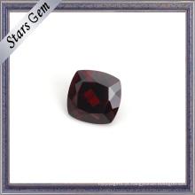 Almofada Vermelha Sangue Perfeito Gemstone Natural Garnet