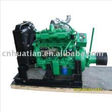 Motor diesel de 20hp-300hp com a embreagem para o poder estacionário