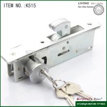 Cerradura caliente del empuje del hardware de los muebles de la venta para la puerta corredera