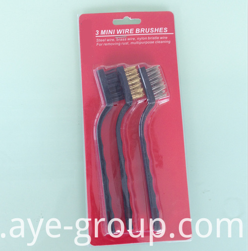 7inch 3pcs wire brush