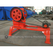 PE150*250 Small Jaw Crusher Which Match with Base Support