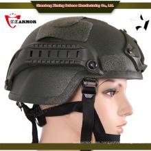 Alibaba China proveedor uhmwpe balística ejército casco