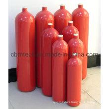 Industrial Helium Argon Gas Cylinders Seamless Steel