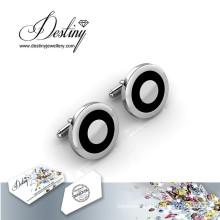 Destiny Jewellery Crystal From Swarovski Mr Oil Paint 2 Cufflinks