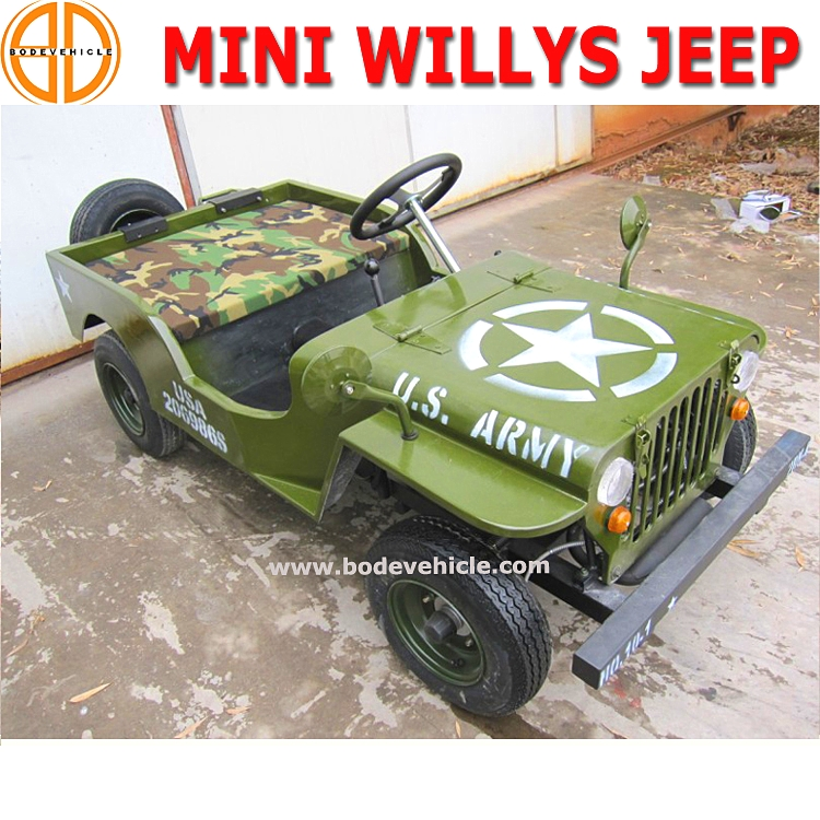 Bode Quality Assured 125cc Mini Jeep for Sale Ebay