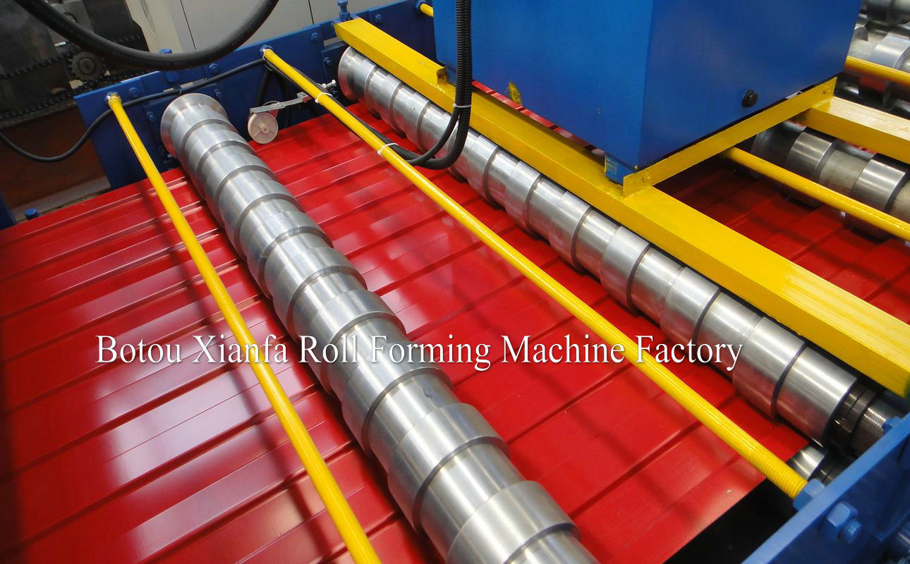double deck roll forming machines for roofing panel