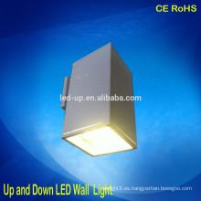 Luz de pared de interior de la venta caliente LED para arriba y abajo Luces del paso de LED luz de la pared de 12 * 1W LED