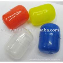 Cápsula de plástico vazia para máquina de venda de brinquedos