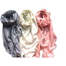 100% Cashmere Rolly borda moda xaile