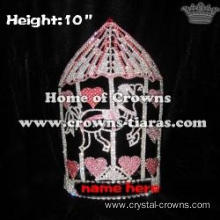 Wholesale Crystal Merr Go Round Pageant Queen Crowns