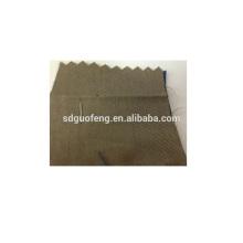 Cómodo y buena tela de algodón de estiramiento de sarga de solidez de color