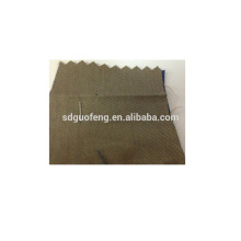 Confortable et bon tissu de coton extensible de sergé de stabilité de couleur
