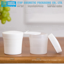 WJ-XR Series cup shape 50g and 100g excellent quality color customizable attractive eco-friendly pp plastic cosmetic jar