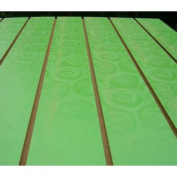 Tablero MDF ranurado / Panel Slatwall / Tablero Slatwall / Slatwall para pantalla