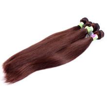 Trama de cabelo humano remy virgem malaio remy duplo