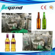Bouteille en verre Beer Washer Filler Capper Production Plant