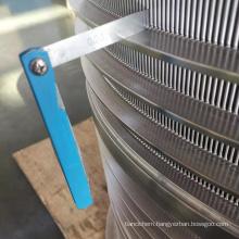 Sieve Stainless Steel Basket For Paper Pulp Screening