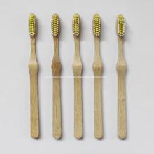 Logotipo personalizado de bambú del cepillo de dientes
