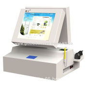 Desktop Wi-Fi Kiosk for Prepaid Card Top-up with 1D Barcode Reader Scanner