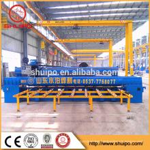 shandong shuipo 2016 SHUIPO Flat Board automatic straight seam automatic welding machine longitudinal seam welding machine price