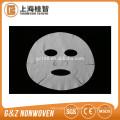 máscara facial descartável cosmética popular do microfiber não tecido