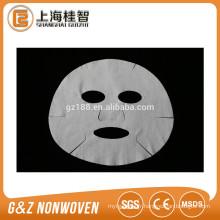 masque facial en microfibre non-tissé masque facial cosmétique populaire