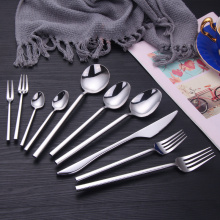 Wholesale Silver Cutlery Reusable Sterling Silverware Set