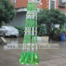 Latest Design Green & Blue Acrylic Crystal Bead Curtain