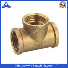 Forged Female Brass Three Tee (YD-6033)